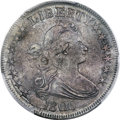 Early Half Dollars, 1806 50C Pointed 6, Stem, O-116, T-20, R.3, AU50 PCGS....