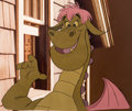 Animation Art:Color Model, Pete's Dragon Elliott Color Model Cel (Walt Disney,1977)....