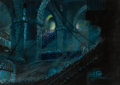 Animation Art:Concept Art, Mel Shaw The Black Cauldron Concept Art (Walt Disney, 1985)....