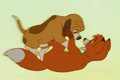 Animation Art:Color Model, The Fox and the Hound Tod and Copper Color Model AnimationArt (Walt Disney, 1981)....