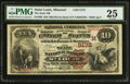 National Bank Notes:Missouri, Saint Louis, MO - $10 1882 Brown Back Fr. 490 The State NB Ch. #(M)5172. ...