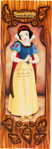 Animation Art:Poster, Snow White and the Seven Dwarfs Reissue Promotional Poster(Walt Disney, 1987). ... (Total: 2 Items)