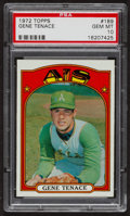 Baseball Cards:Singles (1970-Now), 1972 Topps Gene Tenace #189 PSA Gem MT 10. ...