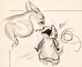 Animation Art:Production Drawing, Bambi Mother Squirrel and Baby Layout Drawing Group of 26 (Walt Disney, 1942). ... (Total: 26 Items)