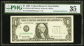 Error Notes:Foldovers, Printed Fold Fr. 1922-K $1 1995 Federal Reserve Note. PMG ChoiceVery Fine 35.. ...