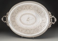 Silver Holloware, British:Holloware, A Large Martin Hall & Co. Silver-Plated Serving Tray,Sheffield, England, late 19th century. Marks: MH&Co,EPNS