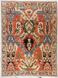 Rugs & Textiles:Carpets, A Large Wool Carpet. 12 feet 4 inches long x 9 feet 11 inches wide(375.9 x 302.3 cm). PROPERTY FROM THE ESTATE OF KENNETH...