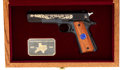Handguns:Semiautomatic Pistol, Cased Colt Texas Department of Public Safety 50th Anniversary Commemorative Semi-Automatic Pistol....