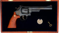 Handguns:Double Action Revolver, Cased Smith & Wesson Model 25-3 125th Anniversary Double Action Revolver....