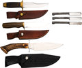 Edged Weapons:Knives, Lot of Six Smith & Wesson Edged Knives.... (Total: 6 Items)