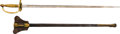 Edged Weapons:Swords, U.S. Model 1840 Non-Commissioned Officers' Sword....