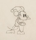 Animation Art:Production Drawing, Mickey's Good Deed Mickey Mouse as Santa Animation Drawing(Walt Disney, 1932)....