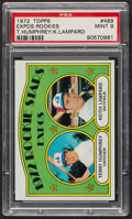 Baseball Cards:Singles (1970-Now), 1972 Topps Expos Rookies #489 PSA Mint 9 - Only One Higher. ...