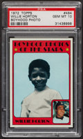 Baseball Cards:Singles (1970-Now), 1972 Topps Willie Horton Boyhood Photo #494 PSA Gem MT 10 - PopFive. ...