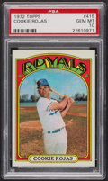 Baseball Cards:Singles (1970-Now), 1972 Topps Cookie Rojas #415 PSA Gem MT 10. ...