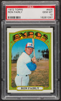 Baseball Cards:Singles (1970-Now), 1972 Topps Ron Fairly #405 PSA Gem MT 10 - Pop Three. ...