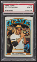 Baseball Cards:Singles (1970-Now), 1972 Topps Willie Stargell #447 PSA Mint 9....