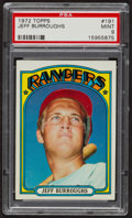 Baseball Cards:Singles (1970-Now), 1972 Topps Jeff Burroughs #191 PSA Mint 9 - Only Three Higher. ...