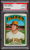 Baseball Cards:Singles (1970-Now), 1972 Topps Fred Norman #194 PSA Gem MT 10. ...