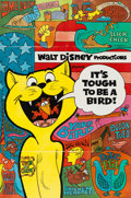 Animation Art:Poster, It's Tough to be a Bird Theatrical Poster (Walt Disney,1969). ...