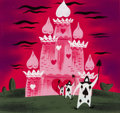 Animation Art:Concept Art, Mary Blair Alice in Wonderland March of Cards ConceptPainting (Walt Disney, 1951). ...