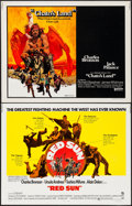 "Movie Posters:Western, Red Sun & Others Lot (National General, 1972). Half Sheets (6)(22"" X 28""). Western.. ... (Total: 6 Items)"