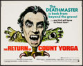 "Movie Posters:Horror, The Return of Count Yorga & Others Lot (American International,1971). Half Sheets (5) (22"" X 28""). Horror.. ... (T..."