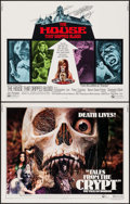 "Movie Posters:Horror, Tales from the Crypt & Other Lot (Cinerama Releasing, 1972).Half Sheets (2) (22"" X 28""). Horror.. ... (Total: 2 It..."