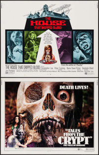 """Tales from the Crypt & Other Lot (Cinerama Releasing, 1972). Half Sheets (2) (22"""" X 28""""). Horror..."""