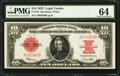 Large Size:Legal Tender Notes, Fr. 123 $10 1923 Legal Tender PMG Choice Uncirculated 64.. ...