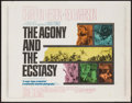"Movie Posters:Drama, The Agony and the Ecstasy & Others Lot (20th Century Fox,1965). Half Sheets (3) (22"" X 28""). Drama.. ... (Total: 3..."