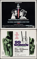 "Movie Posters:Bad Girl, 99 Women & Others Lot (Commonwealth United, 1968). Half Sheets(4) (22"" X 28""). Bad Girl.. ... (Total: 4 Items)"