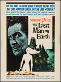 """Movie Posters:Science Fiction, The Last Man on Earth (American International, 1964). Poster (30"""" X40""""). Science Fiction.. ..."""