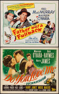 "Movie Posters:Musical, Do You Love Me & Other Lot (20th Century Fox, 1946). HalfSheets (2) (22"" X 28""). Musical.. ... (Total: 2 Items)"