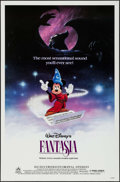 "Movie Posters:Animation, Fantasia & Other Lot (Buena Vista, R-1985). One Sheets (2) (27""X 41""). Animation.. ... (Total: 2 Items)"