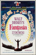 "Movie Posters:Animation, Fantasia (Buena Vista, R- 1963). Flat Folded International OneSheet (27"" X 41""). Animation.. ..."