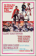 "Movie Posters:Western, The Good, the Bad and the Ugly (United Artists, 1968). One Sheet(27"" X 41.5""). Western.. ..."