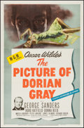 """Movie Posters:Horror, The Picture of Dorian Gray (MGM, 1945). One Sheet (27"""" X 41""""). Horror.. ..."""