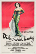 Movie Posters:Drama, Dishonored Lady (United Artists, 1947). One Sheet ...