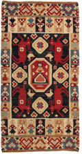 "Rugs & Textiles:Carpets, A Swedish Wool Kilim Rug. 3 feet-6 inches x 1 foot 10 inches.PROPERTY FROM THE ESTATE OF KENNETH S. ""BUD"" ADAMS JR.. ..."