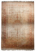 "Rugs & Textiles:Carpets, A Kayseri Silk Carpet. 18 feet 6 inches long x 12 feet wide.PROPERTY FROM THE ESTATE OF KENNETH S. ""BUD"" ADAMS JR...."