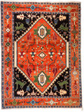 Rugs & Textiles:Carpets, A Large Wool Carpet. 11 feet 1 inch long x 8 feet 11 inches wide(337.8 x 273.1 cm). PROPERTY FROM THE ESTATE OF KENNETH S...