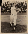 Autographs:Photos, Mickey Mantle Signed Vintage Photograph....