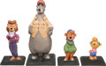 Animation Art:Maquette, TaleSpin Studio Character Model Maquettes Group of 4 (Walt Disney, 1990). ... (Total: 4 Items)