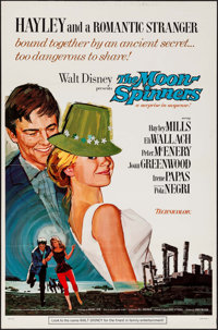 """The Moon-Spinners & Other Lot (Buena Vista, 1964). Flat Folded One Sheets (2) (27"""" X 41"""") Style A. Mystery..."""