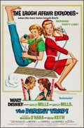 "Movie Posters:Comedy, The Parent Trap (Buena Vista, R-1968). Flat Folded One Sheet (27"" X41"") Style A. Comedy.. ..."