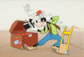 Animation Art:Production Cel, Baggage Buster Goofy Production Cel (Walt Disney, 1941). ...