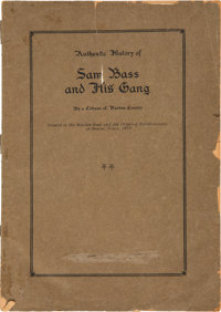 A Citizen of Denton County. Authentic History of Sam Bass and His Gang