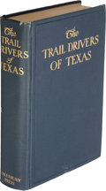 Books, J. Marvin Hunter. The Trail Drivers of Texas...