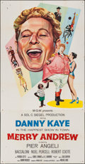 "Movie Posters:Musical, Merry Andrew (MGM, 1958). Three Sheet (41"" X 79""). Musical.. ..."